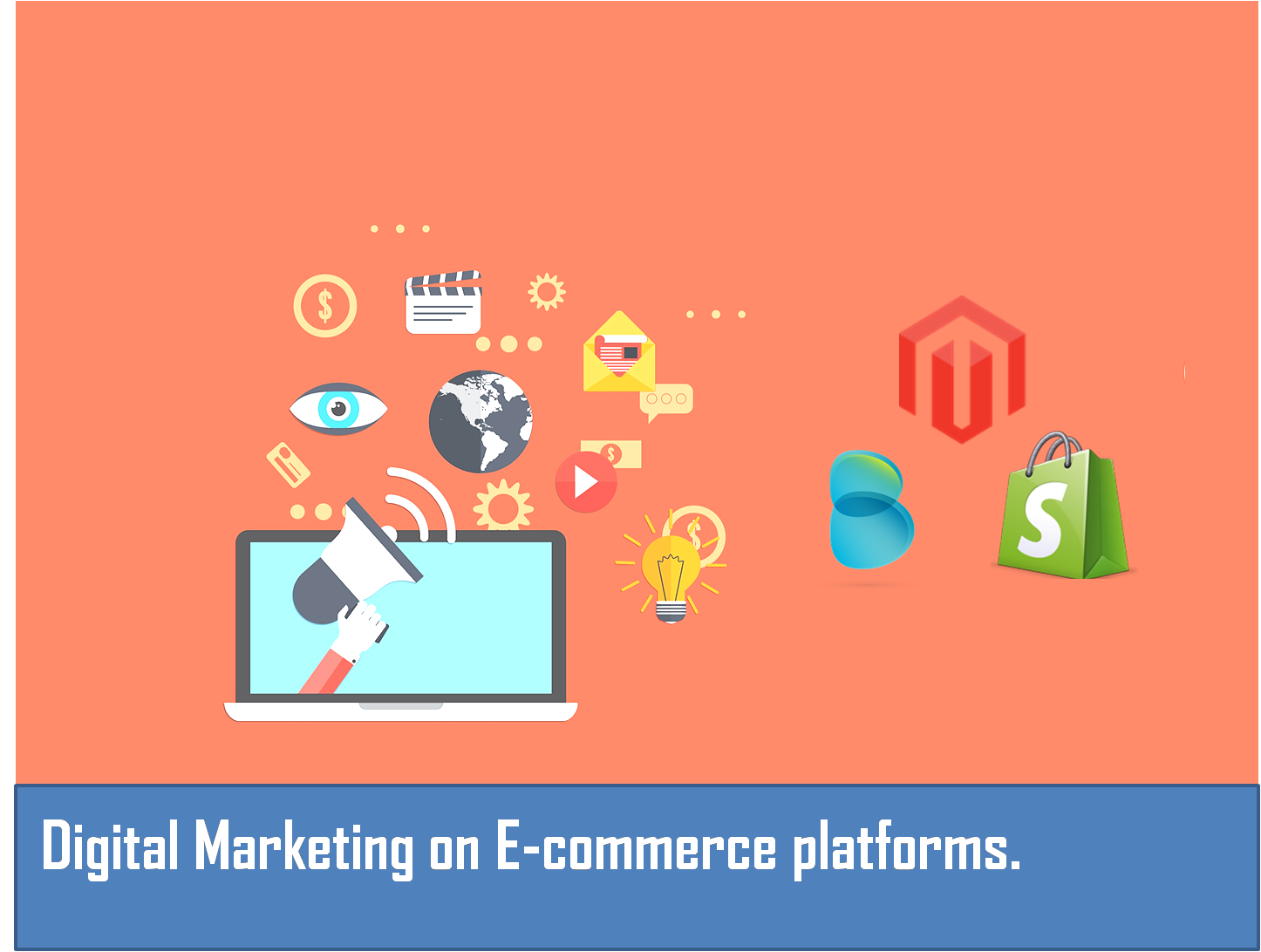 Digital marketing on E-commerce platforms
