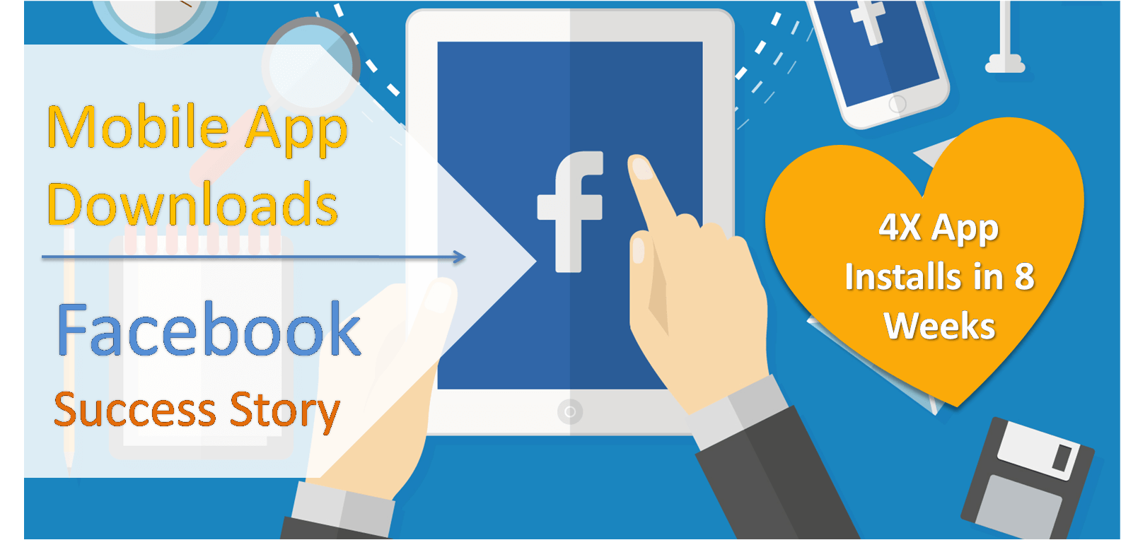 Mobile App Download Facebook Success Story : Top Health App