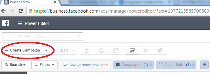 Facebook Product Ads set-up_power editor