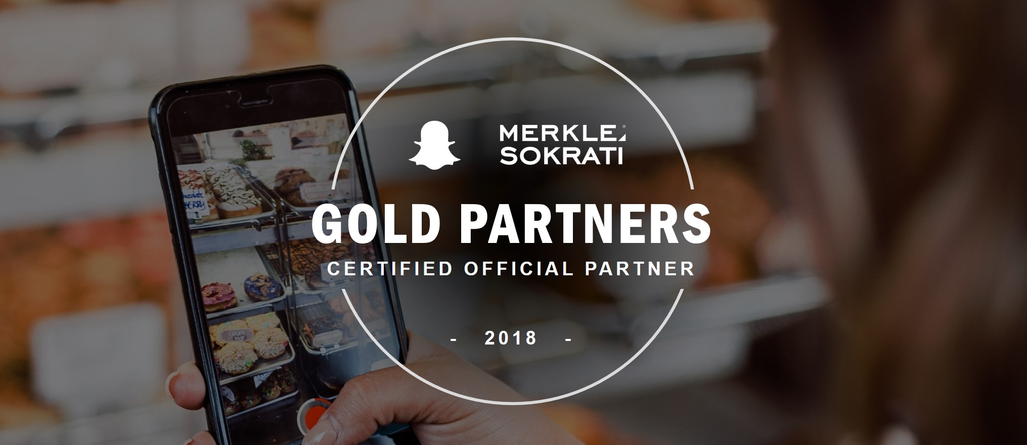 SnapChat Gold Certified Partner Merkle Sokrati