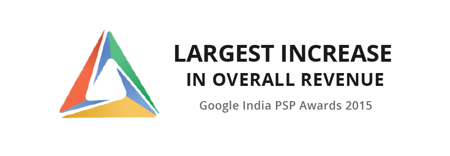 Sokrati wins Google PSP awards for Largest Increase in Revenue 2015