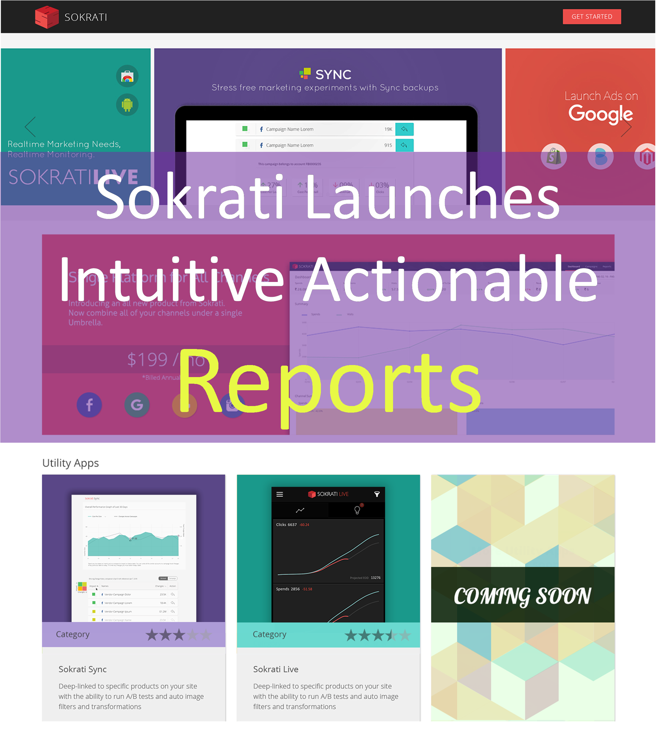 Sokrati Labs Launches Actionable Reports