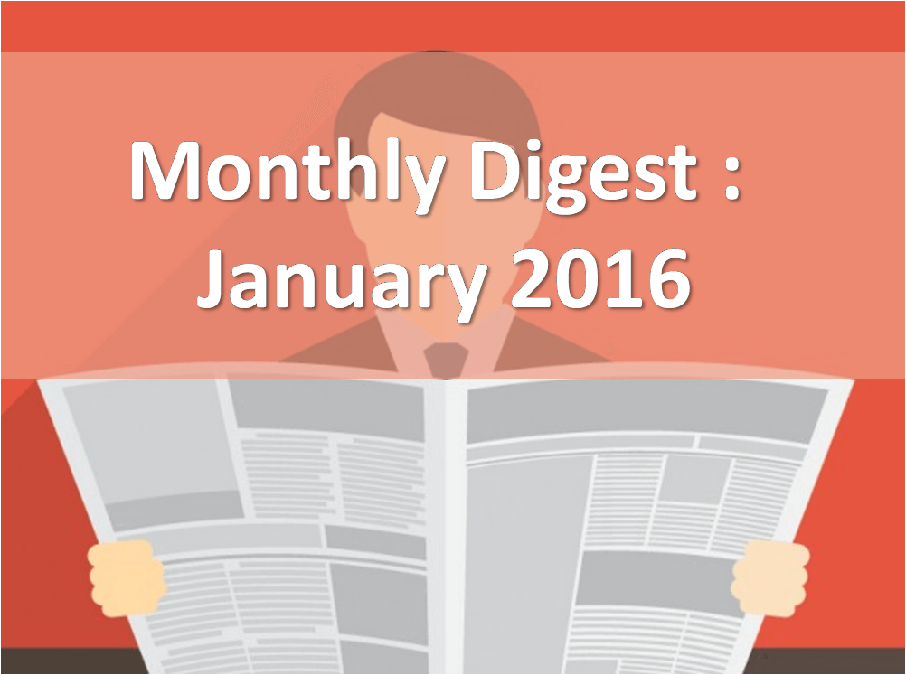 Sokrati Labs Monthly Digest January 2016