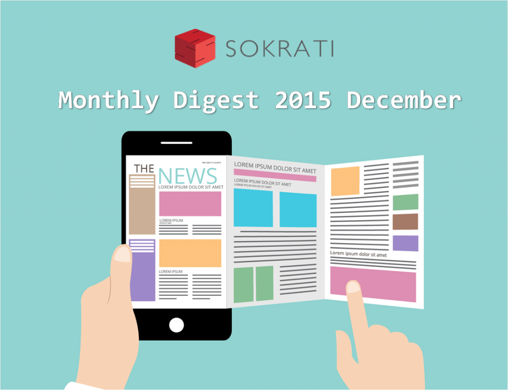 Sokrati Labs Shops Monthly Digest December 2015
